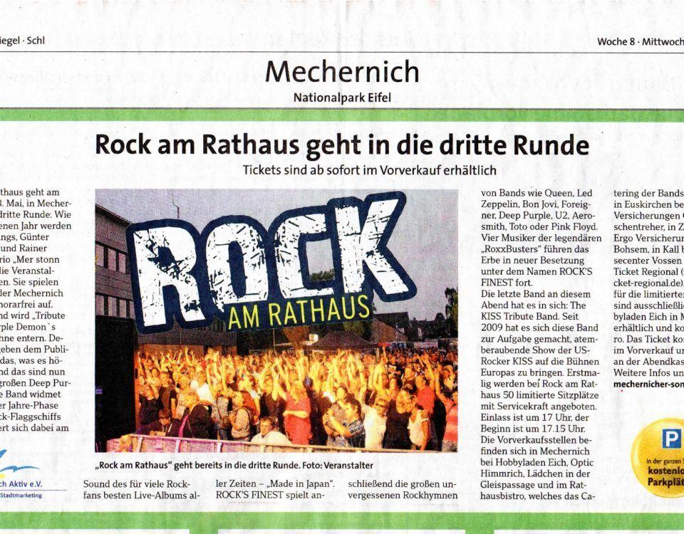 Rock am Rathaus dritte Runde